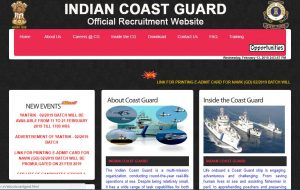 Indian Coast Guard Yantrik Vacancy 2019 Notification PDF