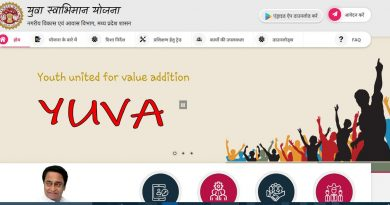 MP Yuva swabhiman yojana 2019 registration online apply last date