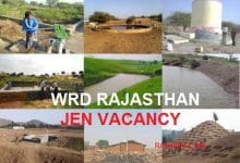 Photo of RSMSSB WRD Rajasthan JE Vacancy 2019, 583 JEn Post Notification Syllabus