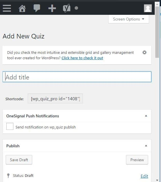add new quiz as wp author 01