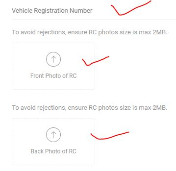fastag documents required for registration paytm process fulll
