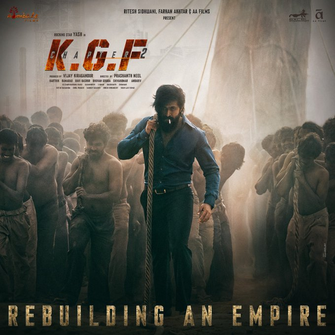 kGF 2 movie in hindi first look