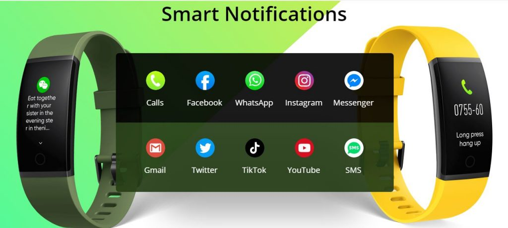 realme band smart notifications feature